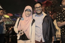With partner in culinary adventure, @kairanz